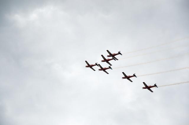 RAAF Flyover