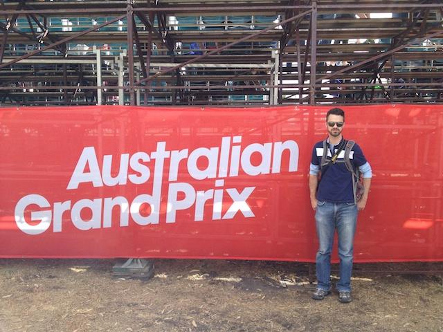 Ben Australian Grand Prix