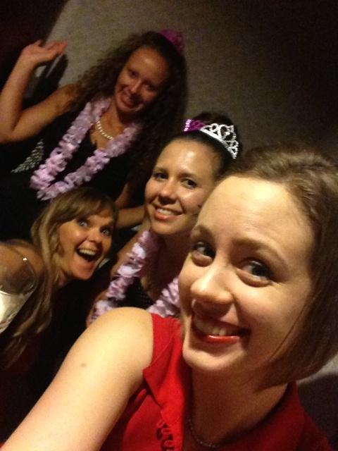 Kristan, Dawn, Carolyn & Emily