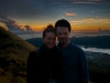 Heather & Ben, Mt Batur
