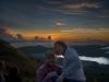 Aaron & Carrie, Mt Batur
